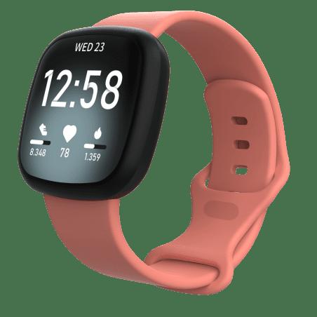 Curea Fitbit Sense – Silicon – L – Pink Blush – FB142