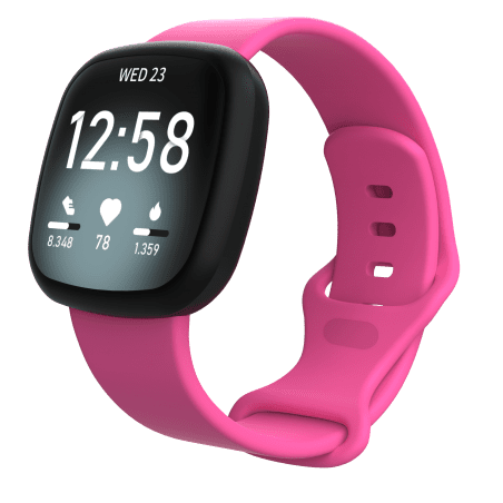 Curea Fitbit Versa 3 – Silicon – S – Hot Pink – FB141