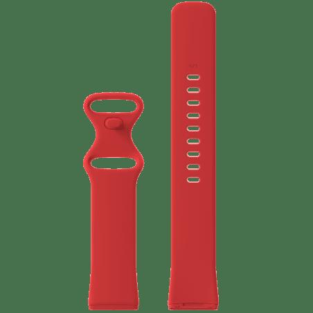 Curea Fitbit Sense – Silicon – S – Red – FB138