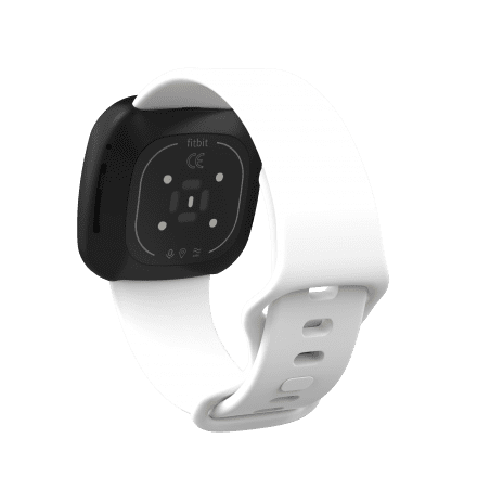 Curea Fitbit Versa 3 – Silicon – S – White – FB136
