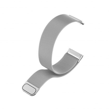 Curea Milanese Fitbit Sense – Oțel inoxidabil – Silver – FB150