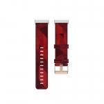 Curea Canvas Fitbit Sense – Material Textil – Red – FB169