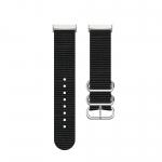 Curea Canvas Fitbit Sense – Material Textil – Black – FB166